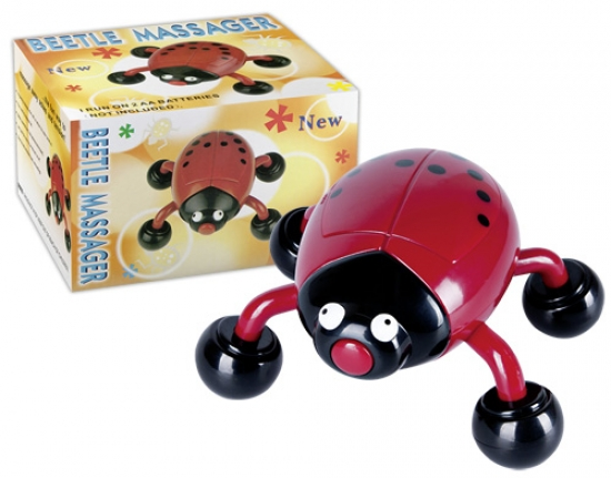You2Toys Beetle Massager - Farbe: rot