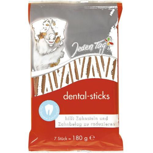 JedenTag Hund dental sticks 7er 180g