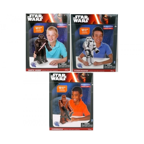 Star Wars Papercraft Figuren