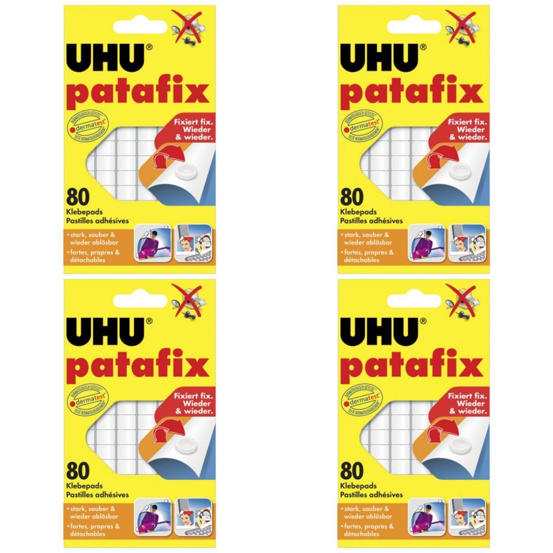 20 x Uhu Patafix Weiss