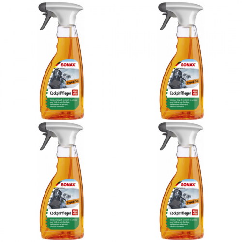 4 x Sonax Cockpitpfleger Tropical Sun 500ml