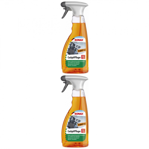 2 x Sonax Cockpitpfleger Tropical Sun 500ml