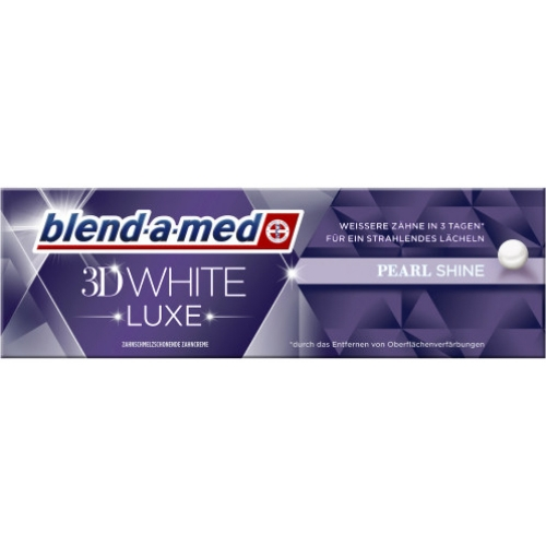 blend-a-med 3D white luxe pearl 75ml Tube