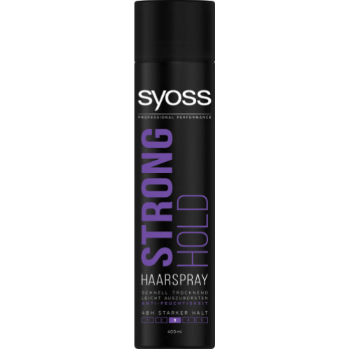Syoss Strong Hold Haarspray Haltegrad 3 400 ml