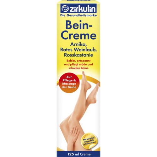 Zirkulin beincreme 125ml Tube