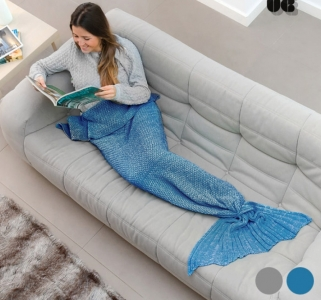 Sirena Snug Snug One Mermaid Decke - Grau
