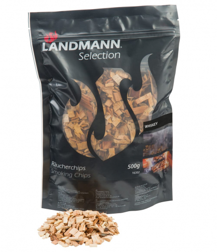 Landmann Selection Räucherchips Whiskey/Eiche